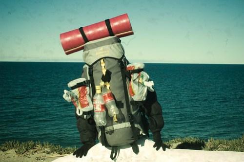 環境に優しいセッケンは、旅の荷物を減らしてくれる。