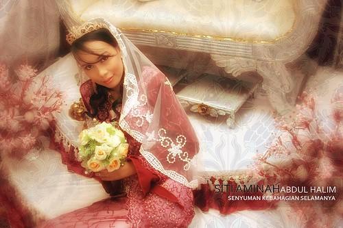 perkahwinan siti aminah balok
