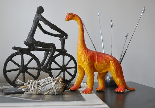 Bicycle, Sage, Dinosaur