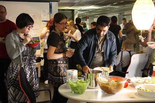 International Food Party at Media Lab, Taik