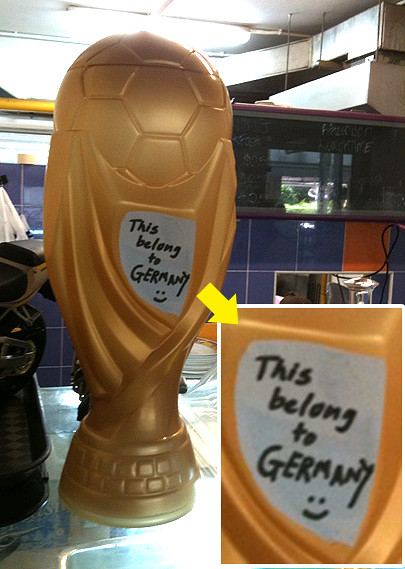 germany for the cup