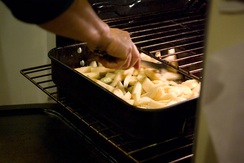potatoes in duck fat