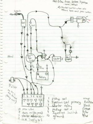 SuzukiSavage  working bobber wiring diagram