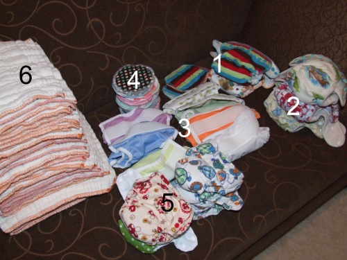 Newborn Diapers!