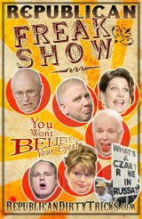 Republican Freak Show Image