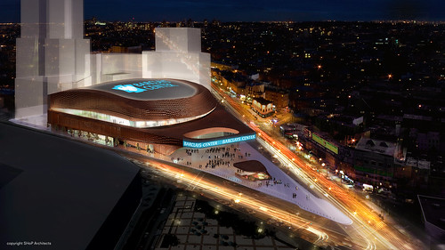 Barclays Center Exterior Shot