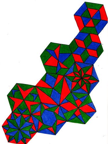 rgb hexagon scan
