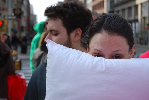 NYC Pillow Fight Competitor