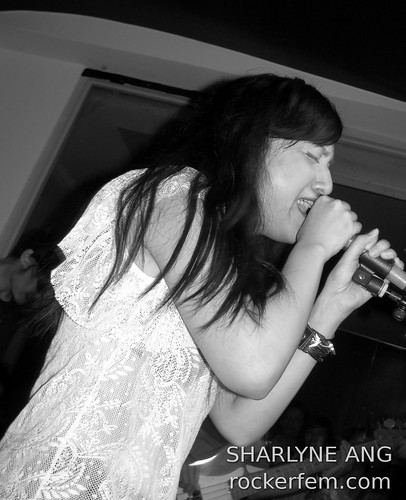 Lally Buendia of Domino at Capone's 2