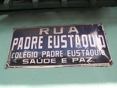 Rua Padre Eustaquio
