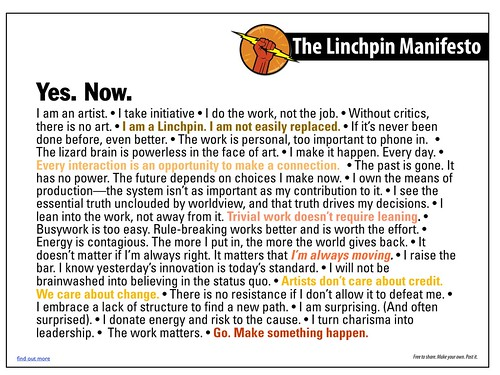 Linchpin manifesto