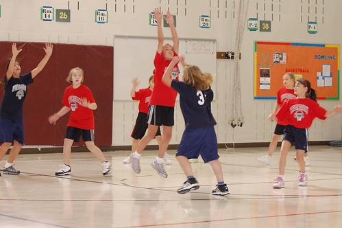 Kari's first basketball game of 2010