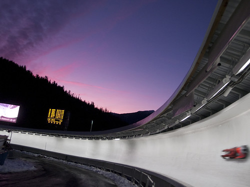 Whistler Sliding Center at Night