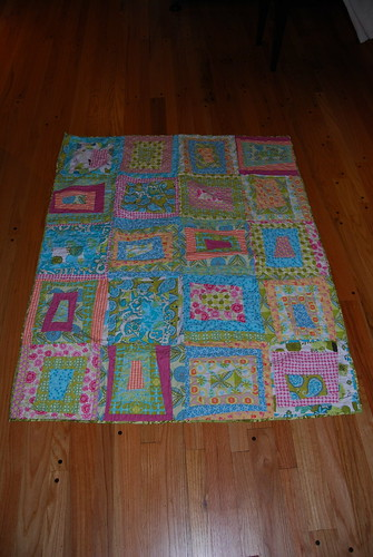 Abstract Squares Quilt