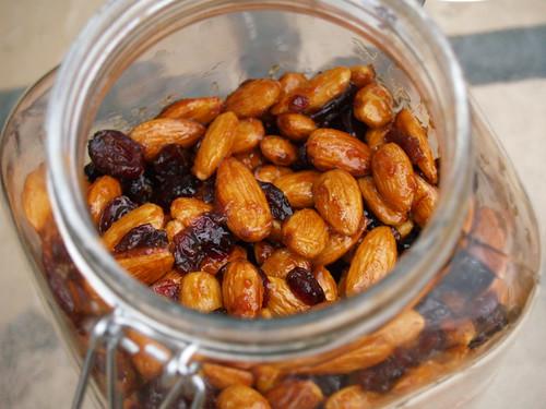 Orange and Cranberry Almonds
