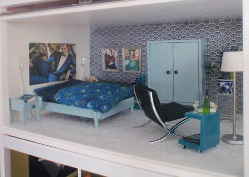 Blue bedroom 1