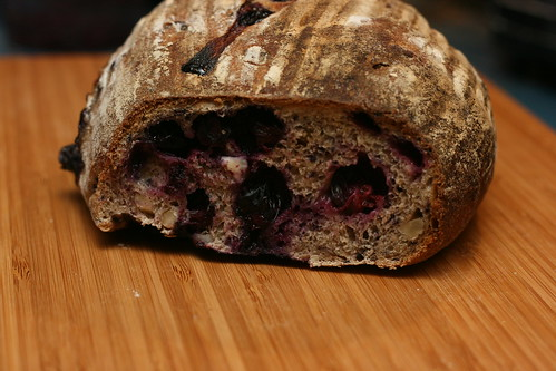 Blueberry Hazelnut Bread
