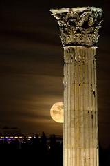 Olympian moon