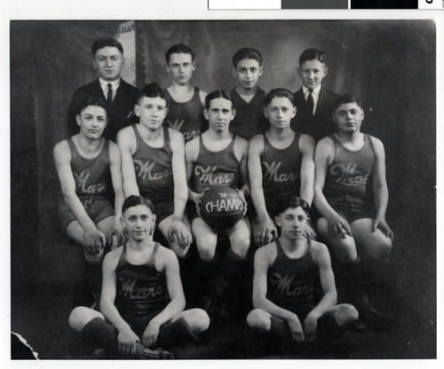 Minneapolis Mars basketball team