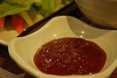 Gochujang chilli paste close-up - Flying Chicken