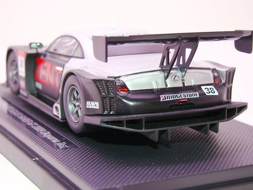 EBBRO ZENT CERUMO SC430 SUPER GT 2009 OKAYAMA TEST (7)