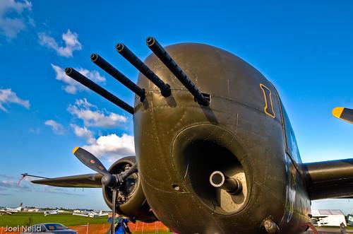 B-25H Barbie III nose guns