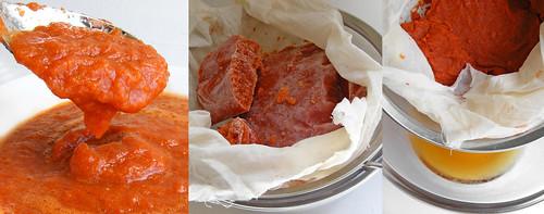 Making Kimchi Consommé