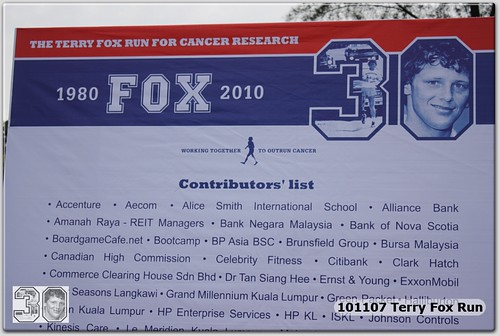 BGC Terry Fox Run 2010