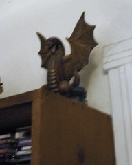 Dragon guradian of the video game shelf