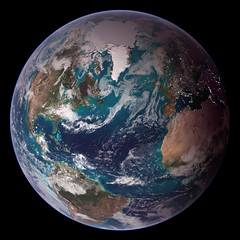 NASA Blue Marble 2007 West by NASA Goddard Photo and Video, on Flickr