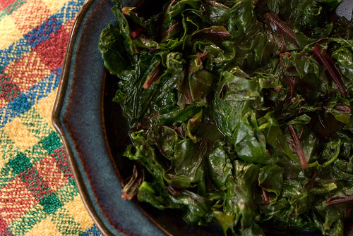 meat-braised greens