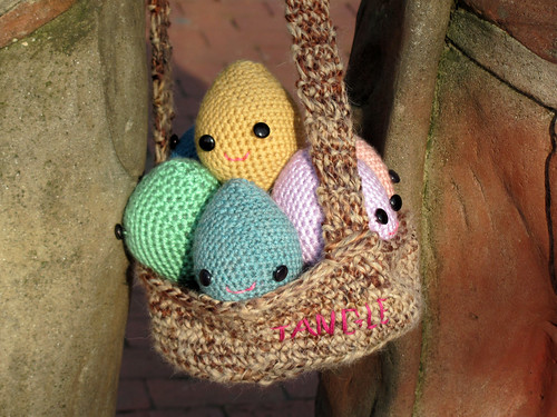 Easter Basket in the morning