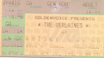 The Verlaines, Whisky