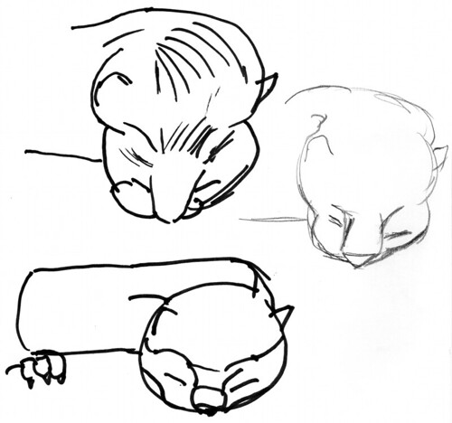 Marble Babies design 2010/04/15 sketch 3