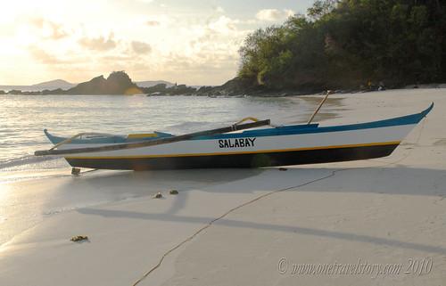 Salabay, Calaguas Island, Camarines Norte