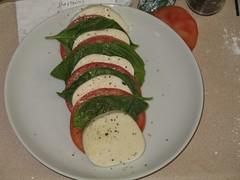 Tomato, Basil Mozzarella