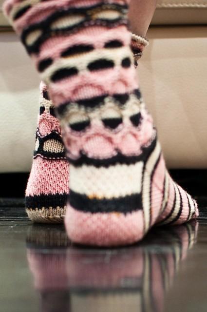Flapper Circle Socks - FINISHED