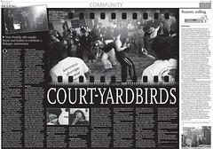 Court-Yardbirds En Global Times, Metro Beijing por felicemcc