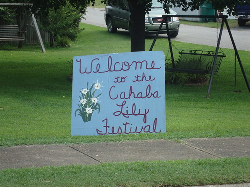 Cahaba Lily Festival, West Blocton AL