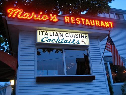 Mario's Restaurant, Italian Cuisine, Cocktails