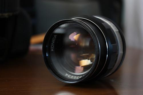 Old school lens.