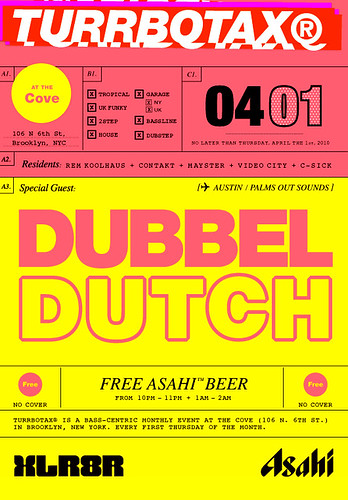 April TURRBOTAX® with Dubbel Durtch