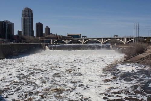 Raging Mississippi Rapids