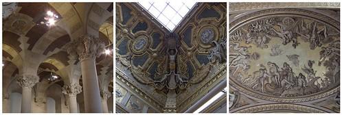 Decken im Louvre