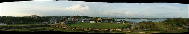 Panorama from Galle Fort