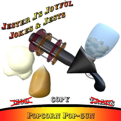 Jester J's Popcorn Pop-gun Vendor