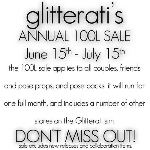 Glitterati Sale Jun-July 2010