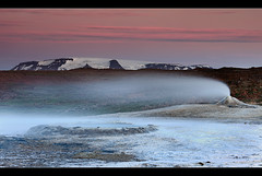 Fields of Steam - Hveravellir, Iceland by orvaratli
