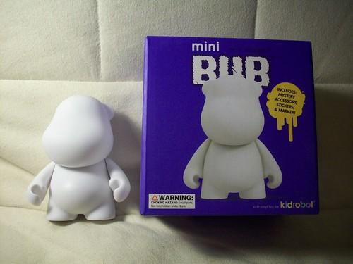mini munny world bub kidrobot