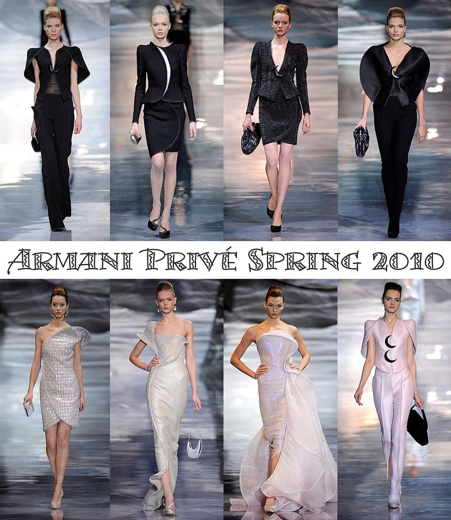 Armani Privé Spring 2010